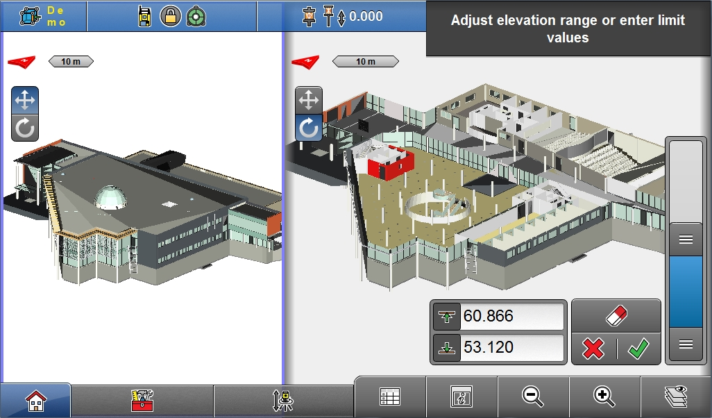 New Leica iCON construction software version improves design experience