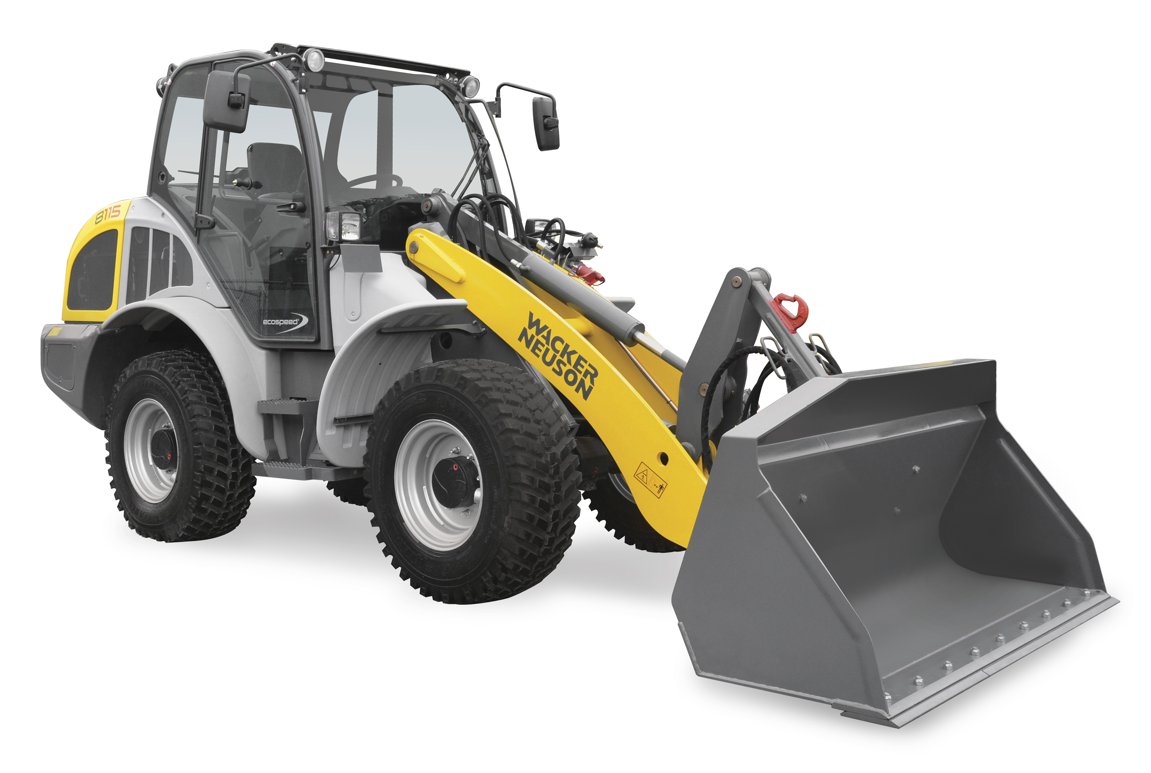 Wacker Neuson 8115L all-wheel steer loader