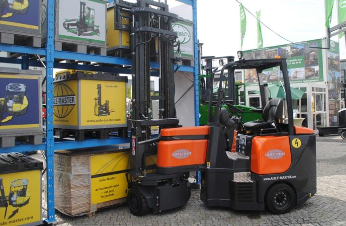 A busy Ligna for Combilift