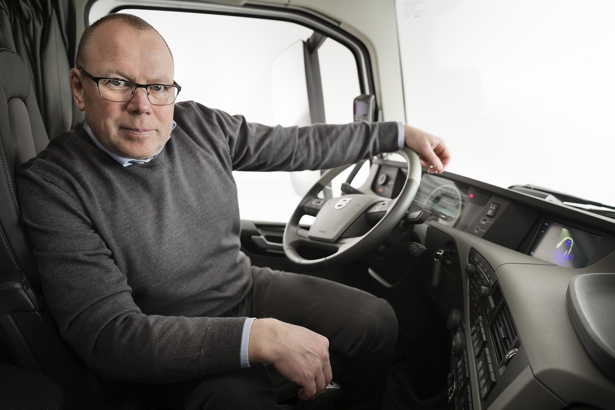 Anders Edenholm, Gesamtprojektleiter bei Volvo Trucks.