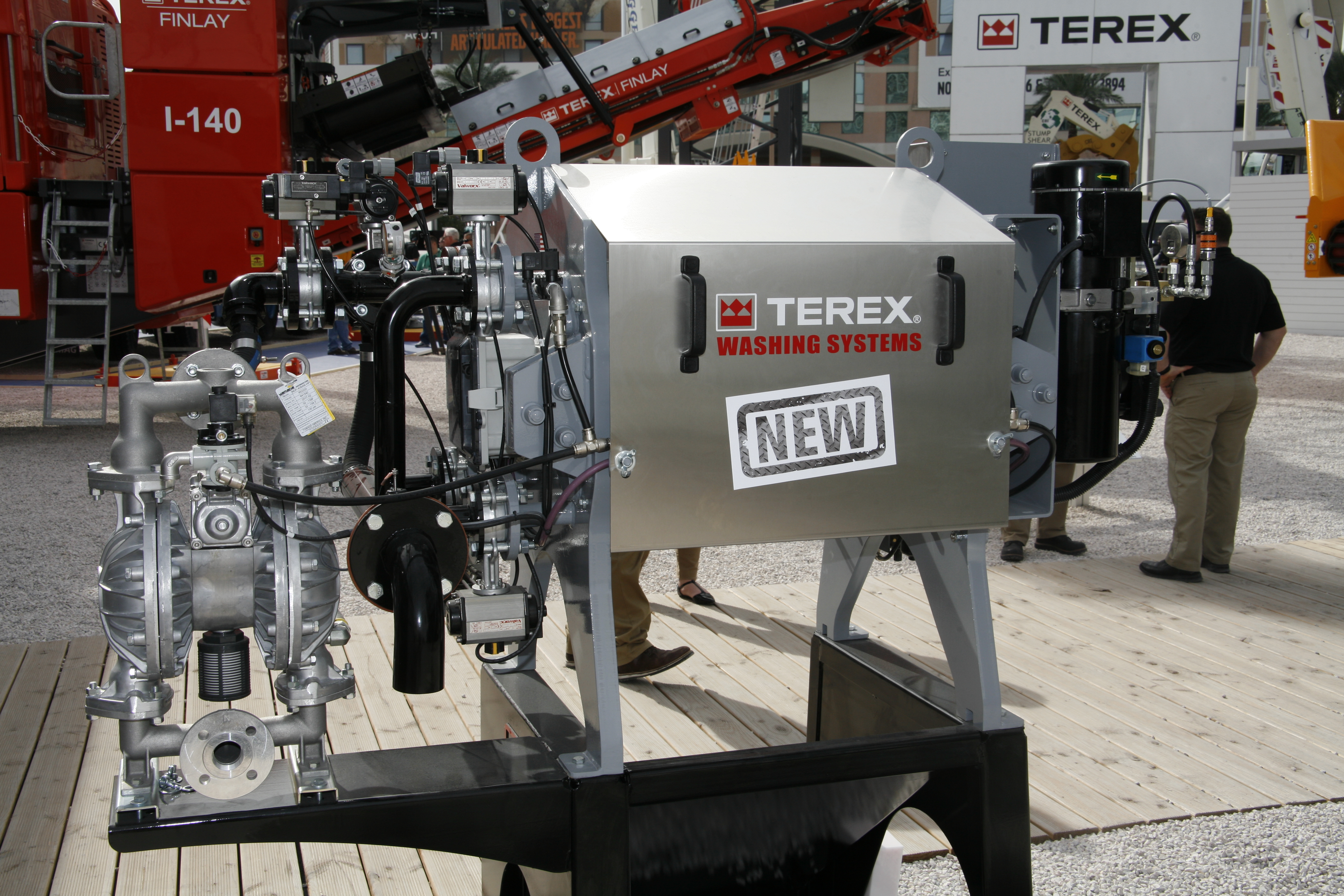 Everything is AquaClear for Terex Washing Systems