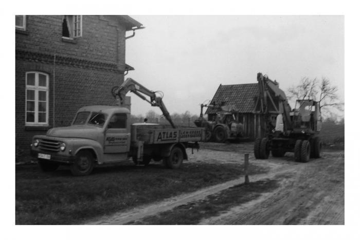 So startete Burghard von der Wehl vor 50 Jahren in Lauenbrück