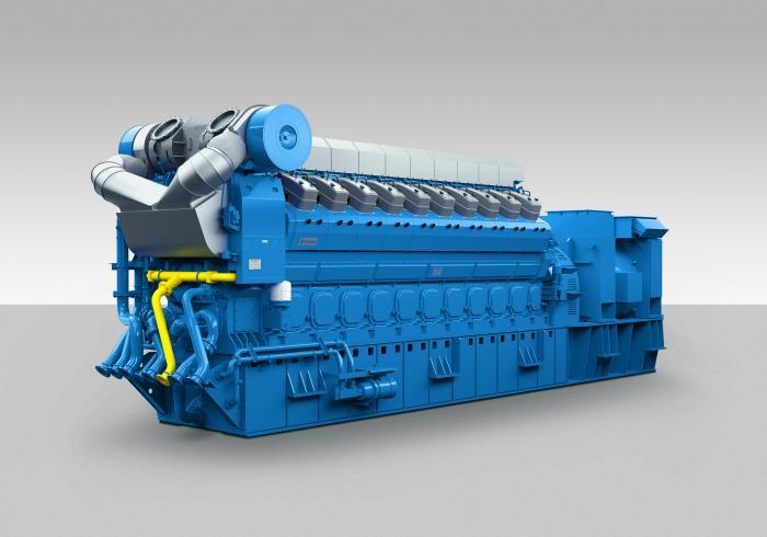 Zum ersten Mal stellt Rolls-Royce auf der MINExpo ein Modell eines 20-Zylinder-Aggregats vom Typ B35:40 aus. Die erdgasbetriebene Baureihe B35:40 ist für den 60-Hertz-Markt als 12-, 16- und 20-Zylindervariante in einem elektrischen Leistungsbereich von 5.375 bis 9.000 Kilowatt erhältlich. Die Aggregate auf Basis mittelschnelllaufender Motoren sind besonders wegen ihrer hohen Leistung zur Stromerzeugung für abgelegene Gebiete oder Minen geeignet.