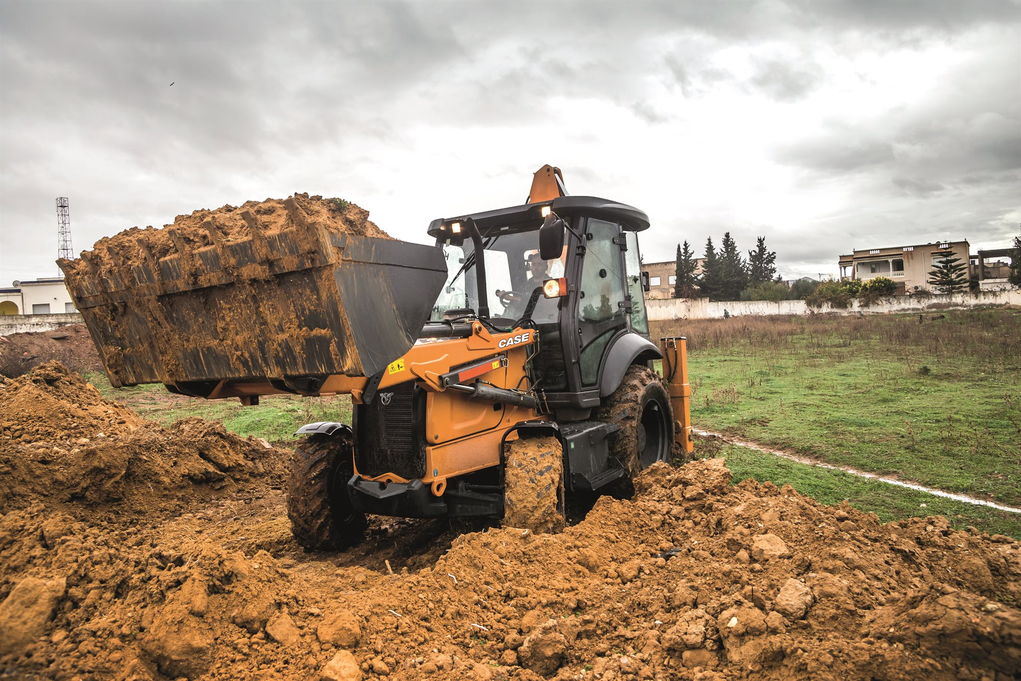 CASE 570ST backhoe loader