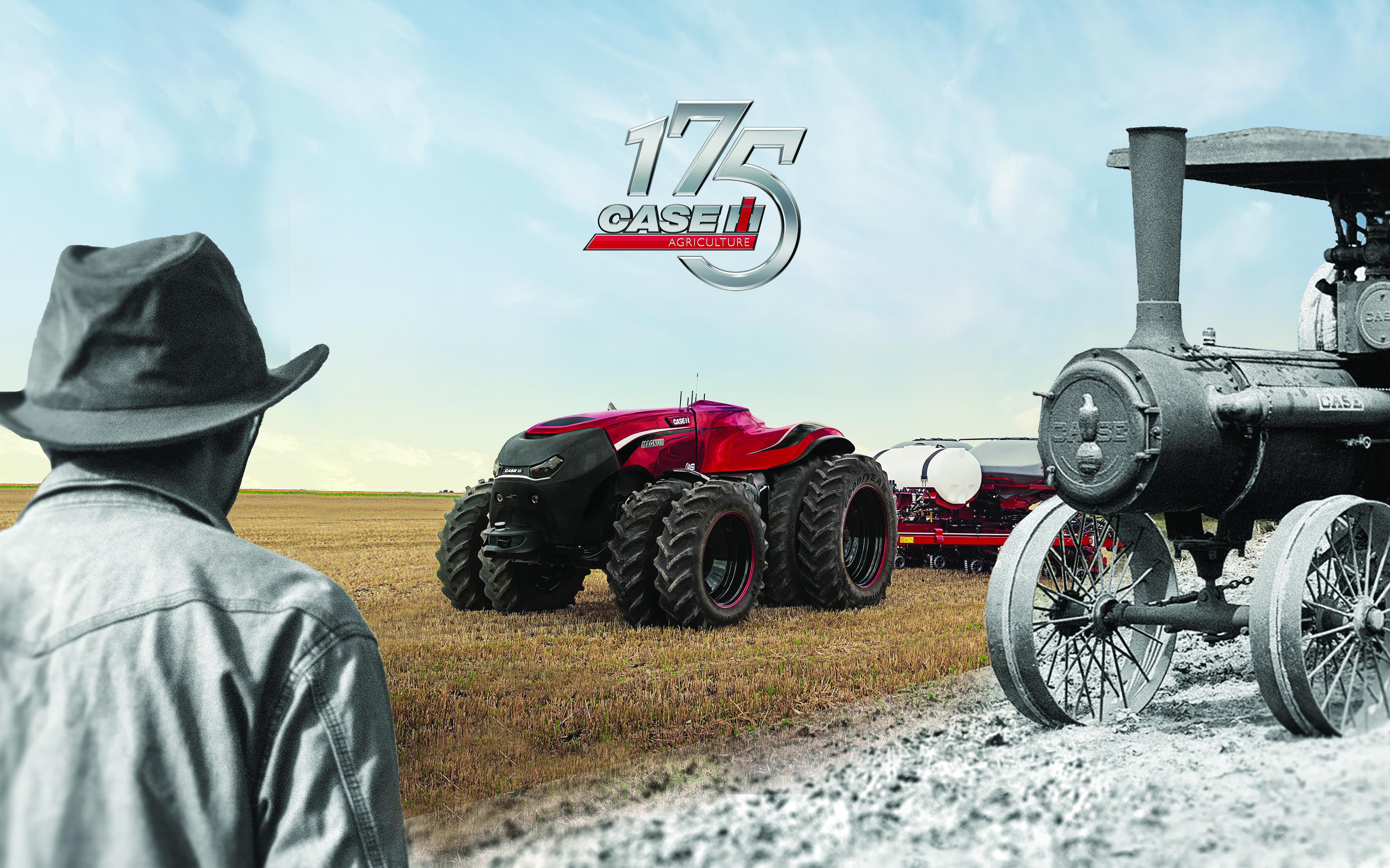 Case IH setzt zum 175. Jahrestag seiner Unternehmensgründung mit einem Autonomen Traktor Akzente auf der SIMA in Paris