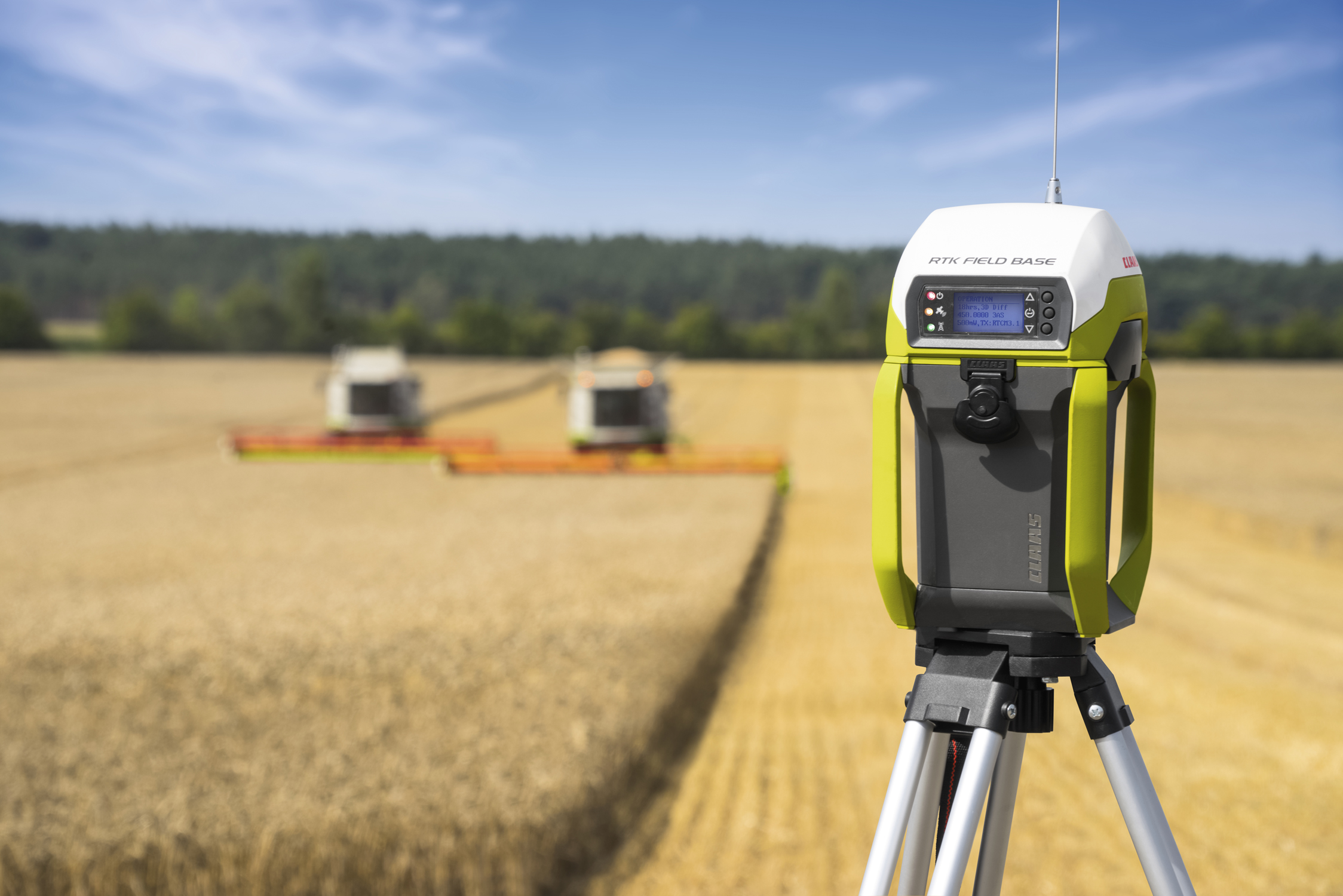 CLAAS combines high-tech and design