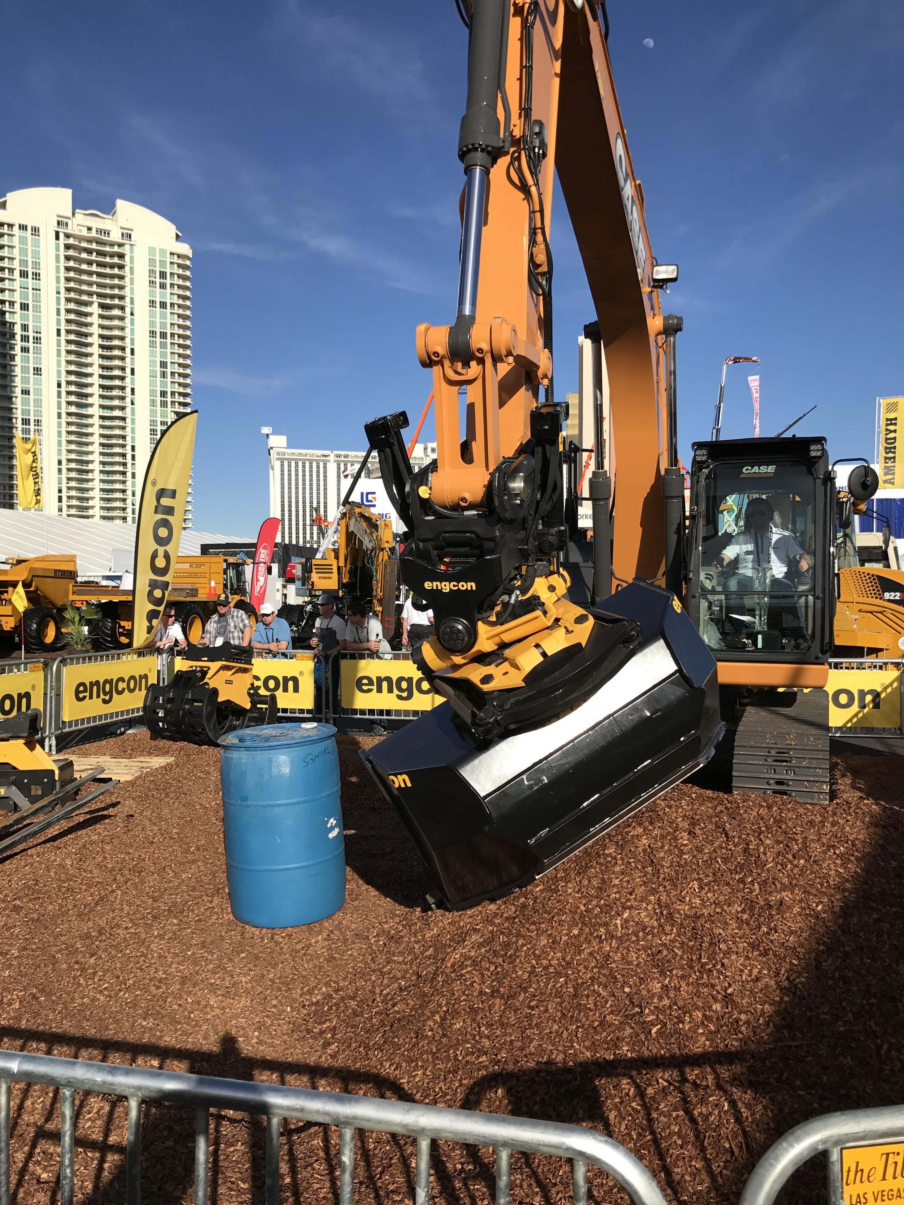 "Conexpo in Las Vegas ein ""Riesenerfolg"" für Engcon"