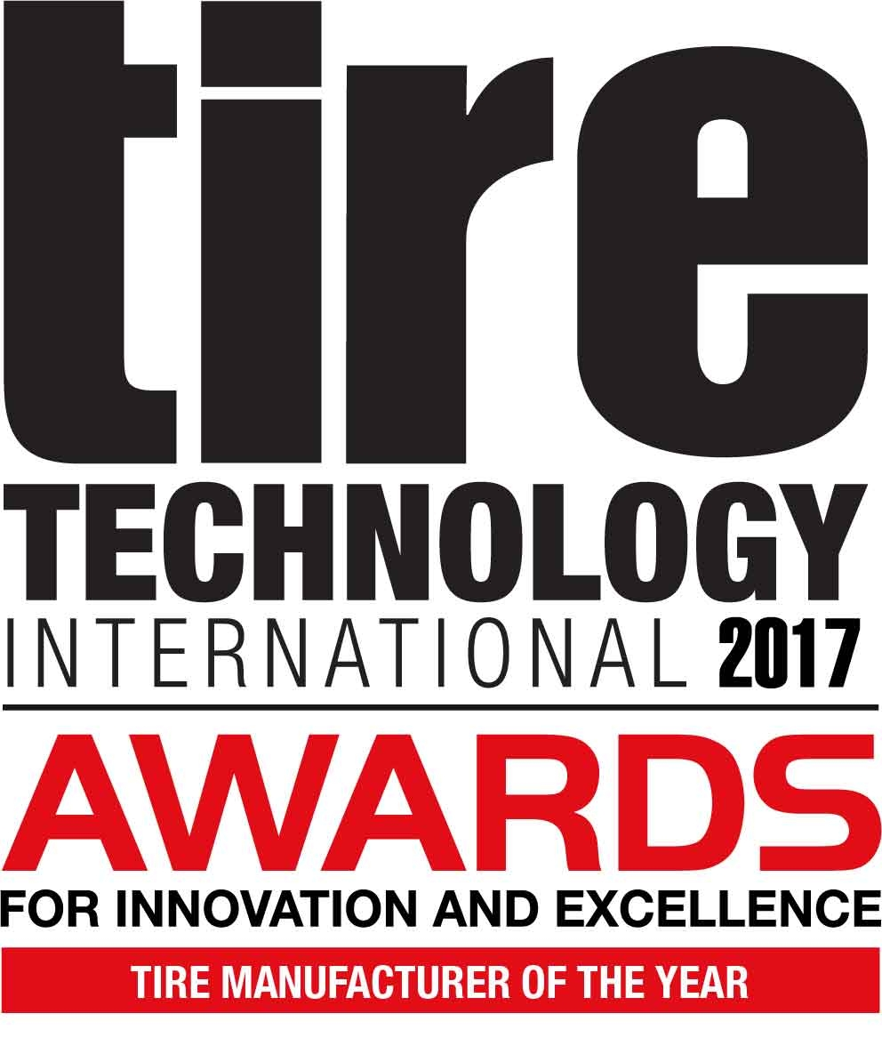 Offizielles Logo des Tire Technology International Award 2017.