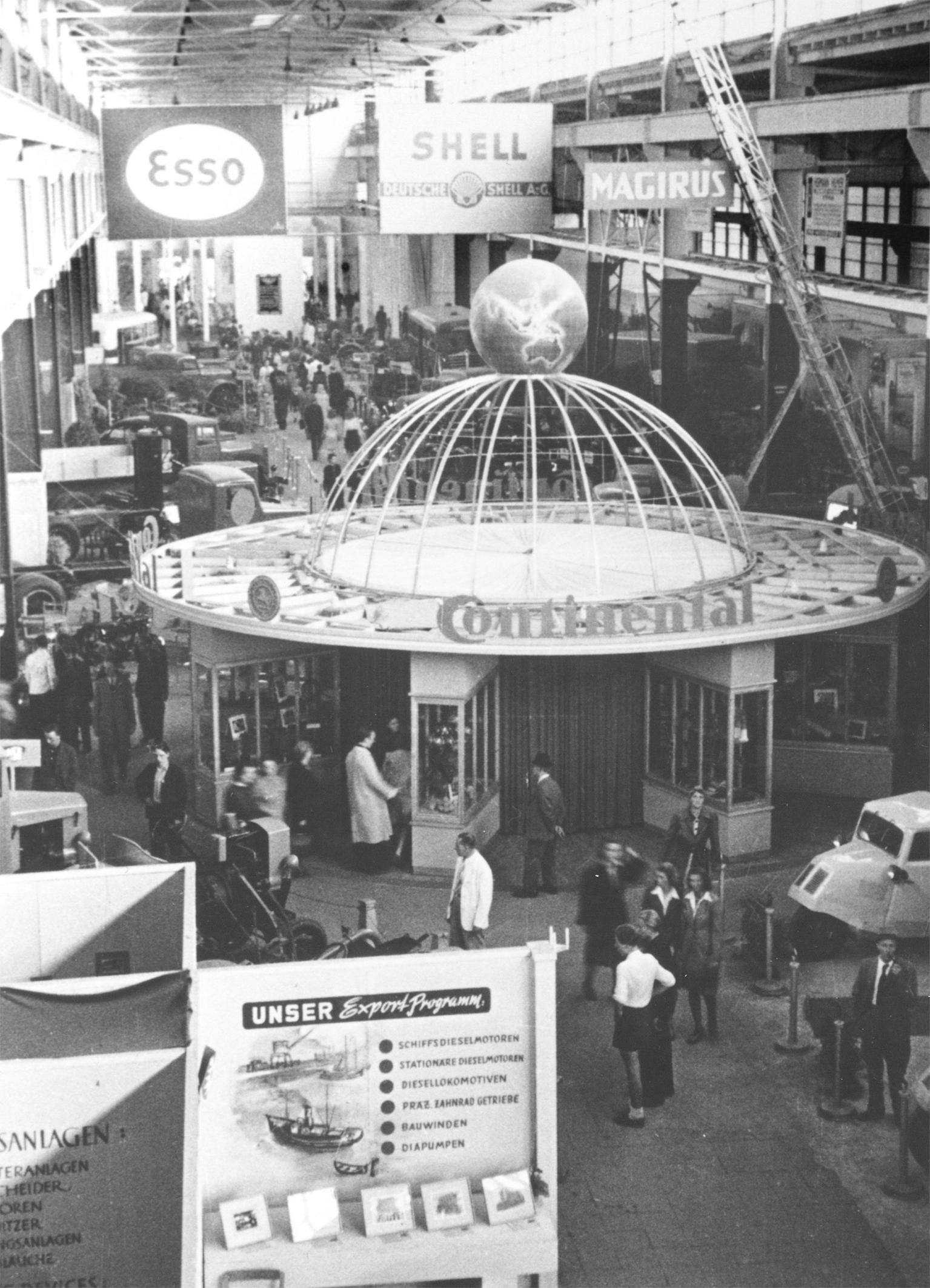 Als hannoversches Traditionsunternehmen ist Continental seit 70 Jahren stets am Puls der Zeit. Die Hannover Messe bietet Wirtschaft, Politik und Wissenschaft eine internationale Plattform für einen branchenübergreifenden Dialog. Foto: Continental