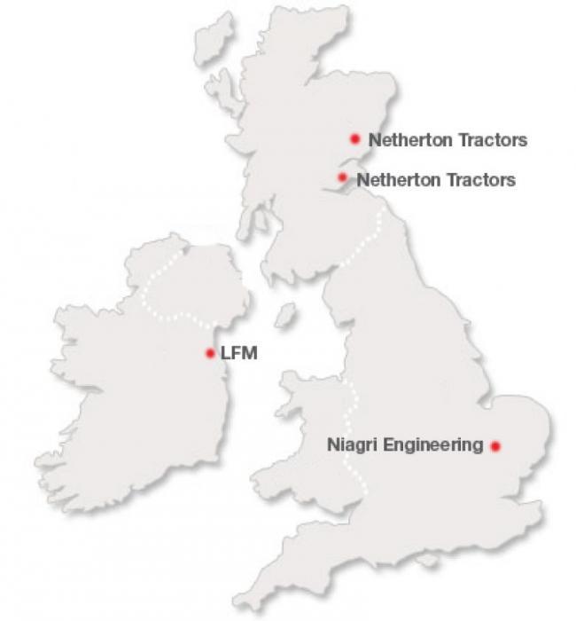 Dewulf & Miedema fahren mit der Umstrukturierung ihrer Händler in England, Schottland und Irland fort