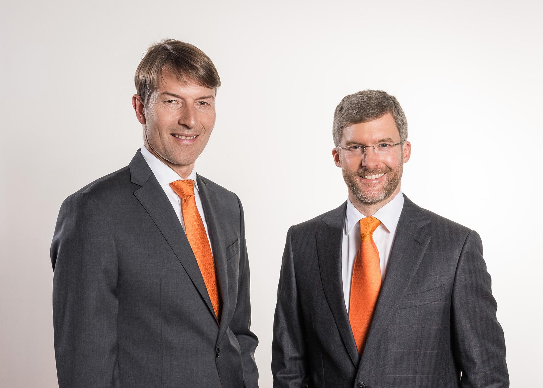 Die Amazone-Geschäftsführer Christian Dreyer und Dr. Justus Dreyer erwarten - bei gleichbleibenden Rahmenbedingungen - auch für 2017 einen leichten Umsatzzuwachs.