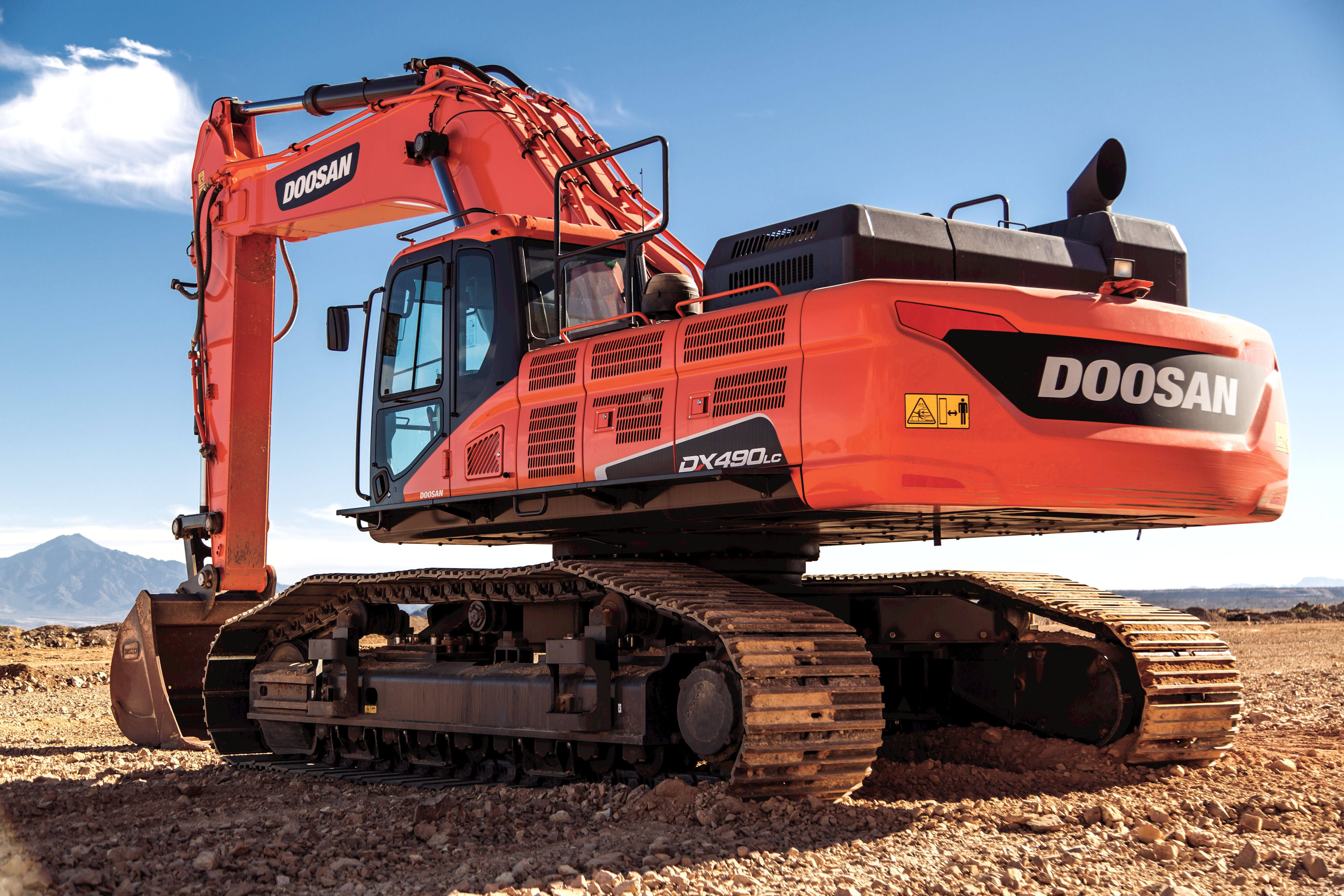 Doosan expands heavy equipment lineup with the addition of