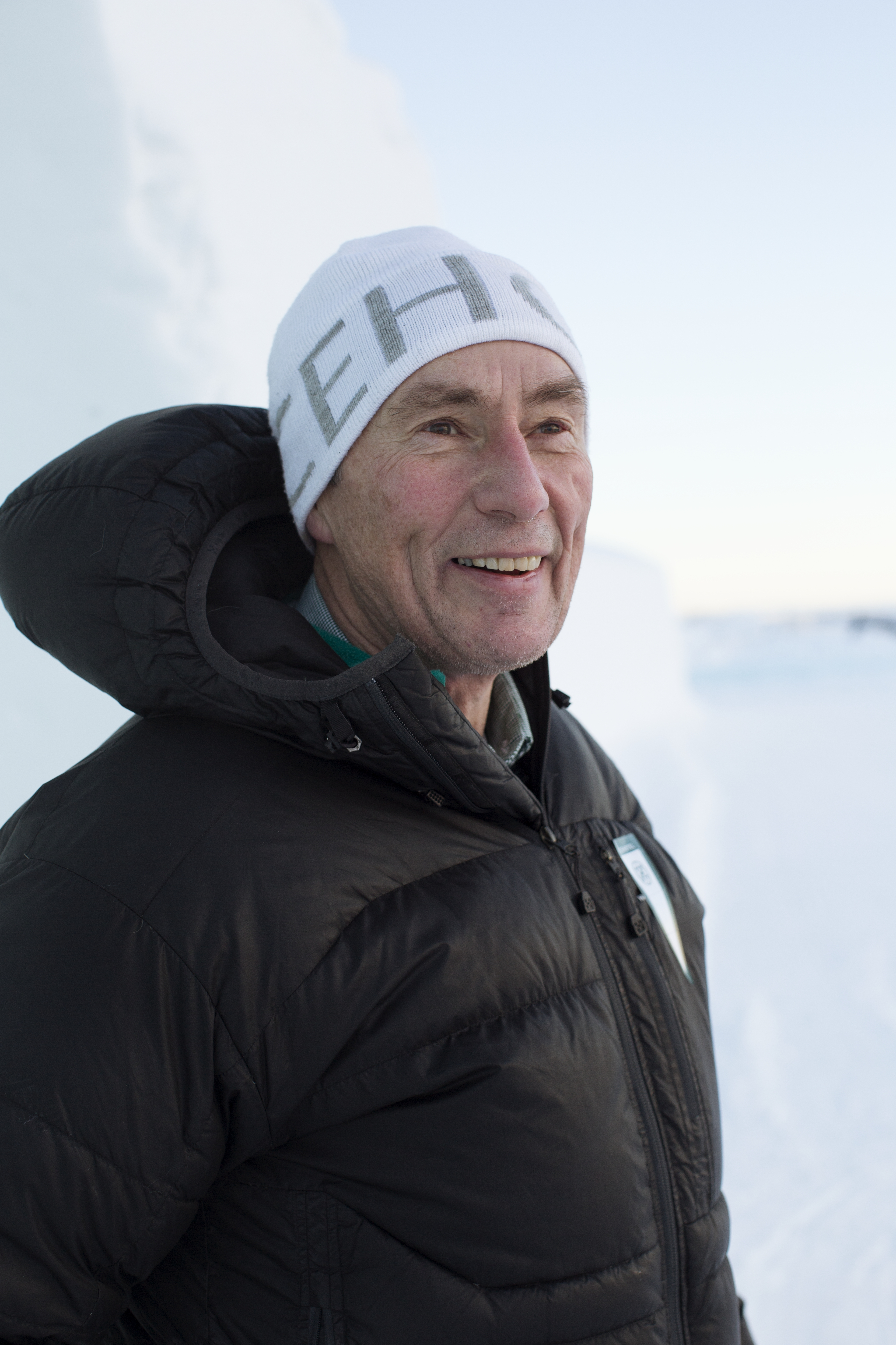 Yngve Bergkvist, founder of the Icehotel.