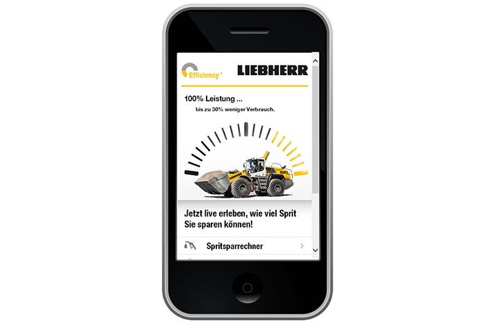 Ab sofort sind Informationen zum Kraftstoffverbrauch sämtlicher XPower-Radlader im Liebherr-Spritsparrechner verfügbar.