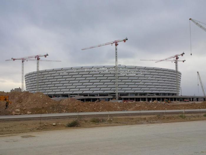 GEDA 2-PK Olympiastadion Baku Aserbaidschan 2013