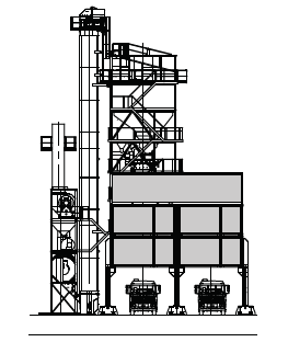 """""""RAPID""""-Asphaltmischanlage mit Verladesilo 103 t."""