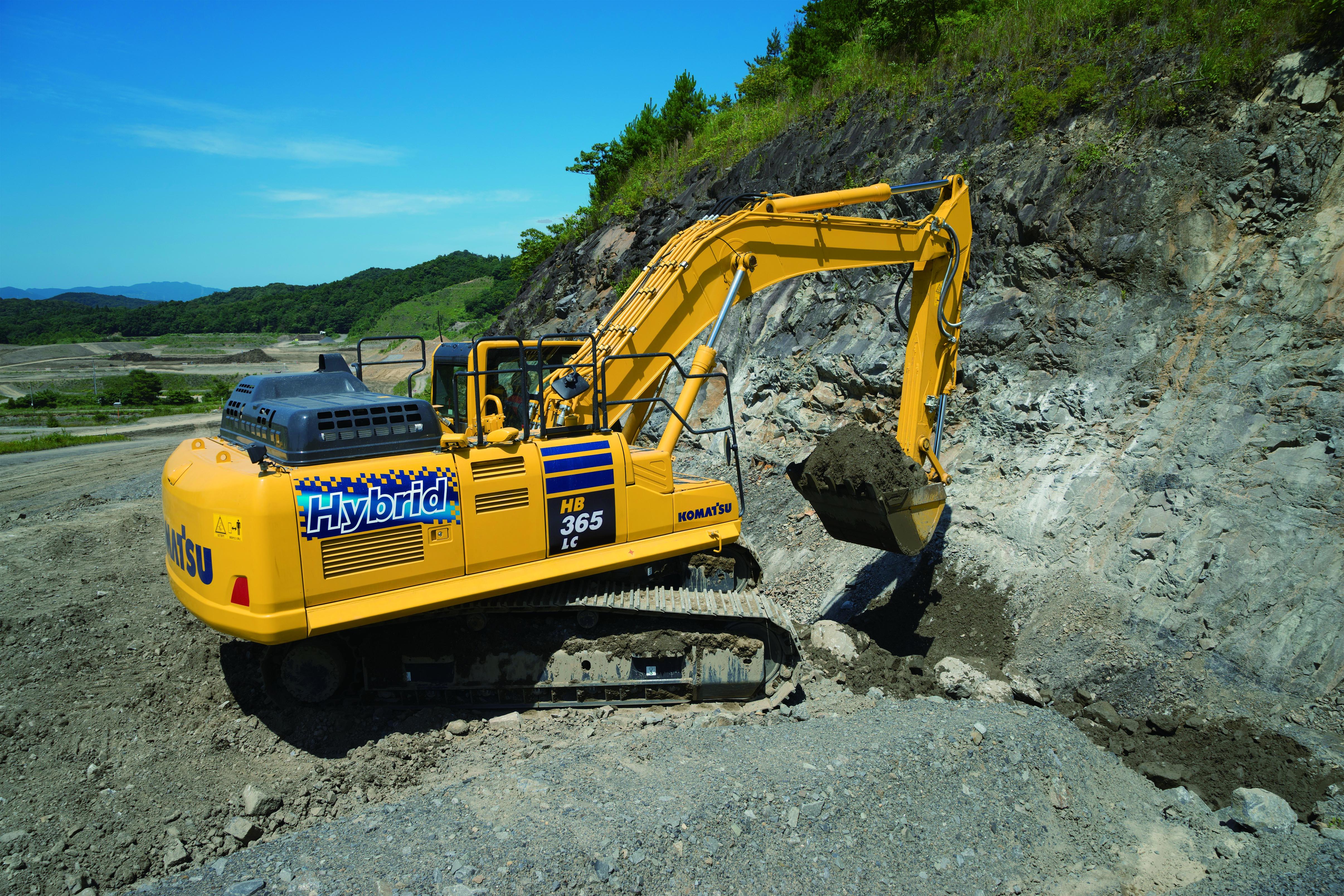 Komatsu HB365LC/NLC‐3 Hybrid Excavator