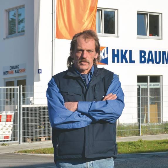 Thomas Wasmer ist Betriebsleiter im HKL Center München Ost.