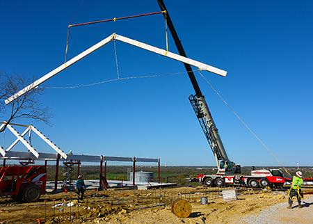 New htc 86110 lifts trusses for building in northlake for 86110