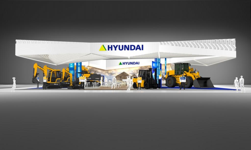 Impressionen vom Hyundai-Stand auf der Samoter 2017 in Verona. Bilder: Hyundai