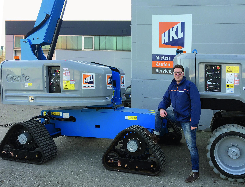 Jens Galle ist Kundenberater im Außendienst im HKL Arbeitsbühnen- und Teleskopcenter NRW.