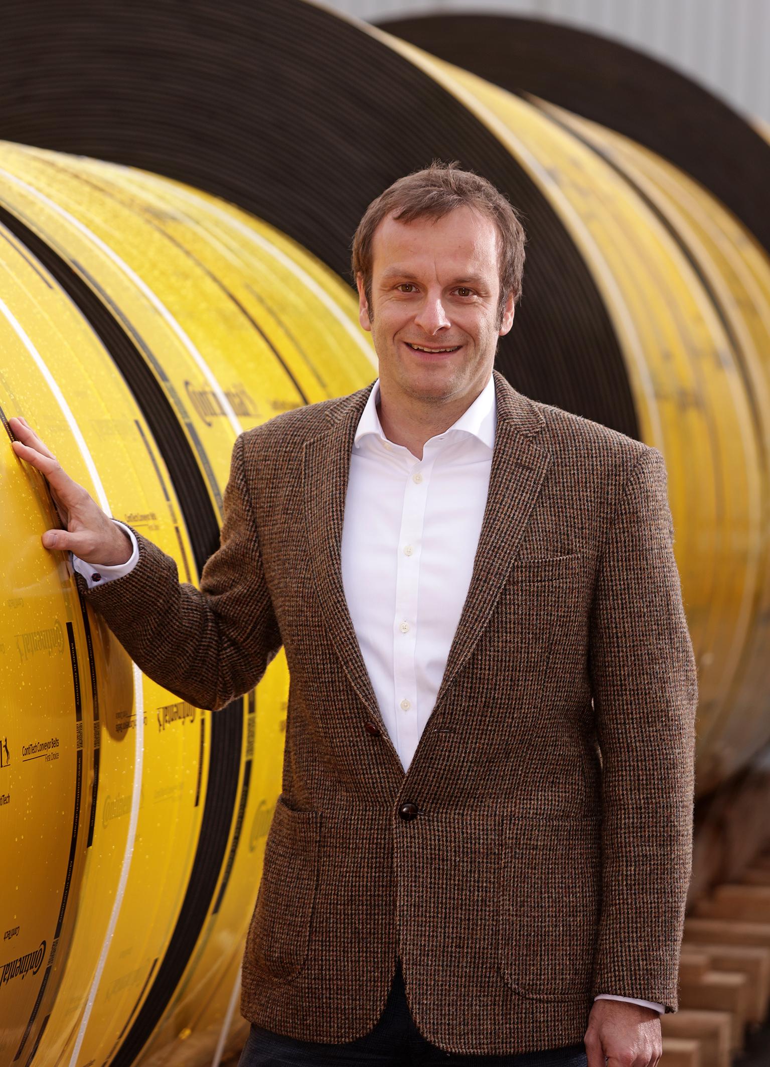 Dr. Michael Hofmann leitet das neue aufgestellte Industriesegment der ContiTech Conveyor Belt Group. Foto: ContiTech