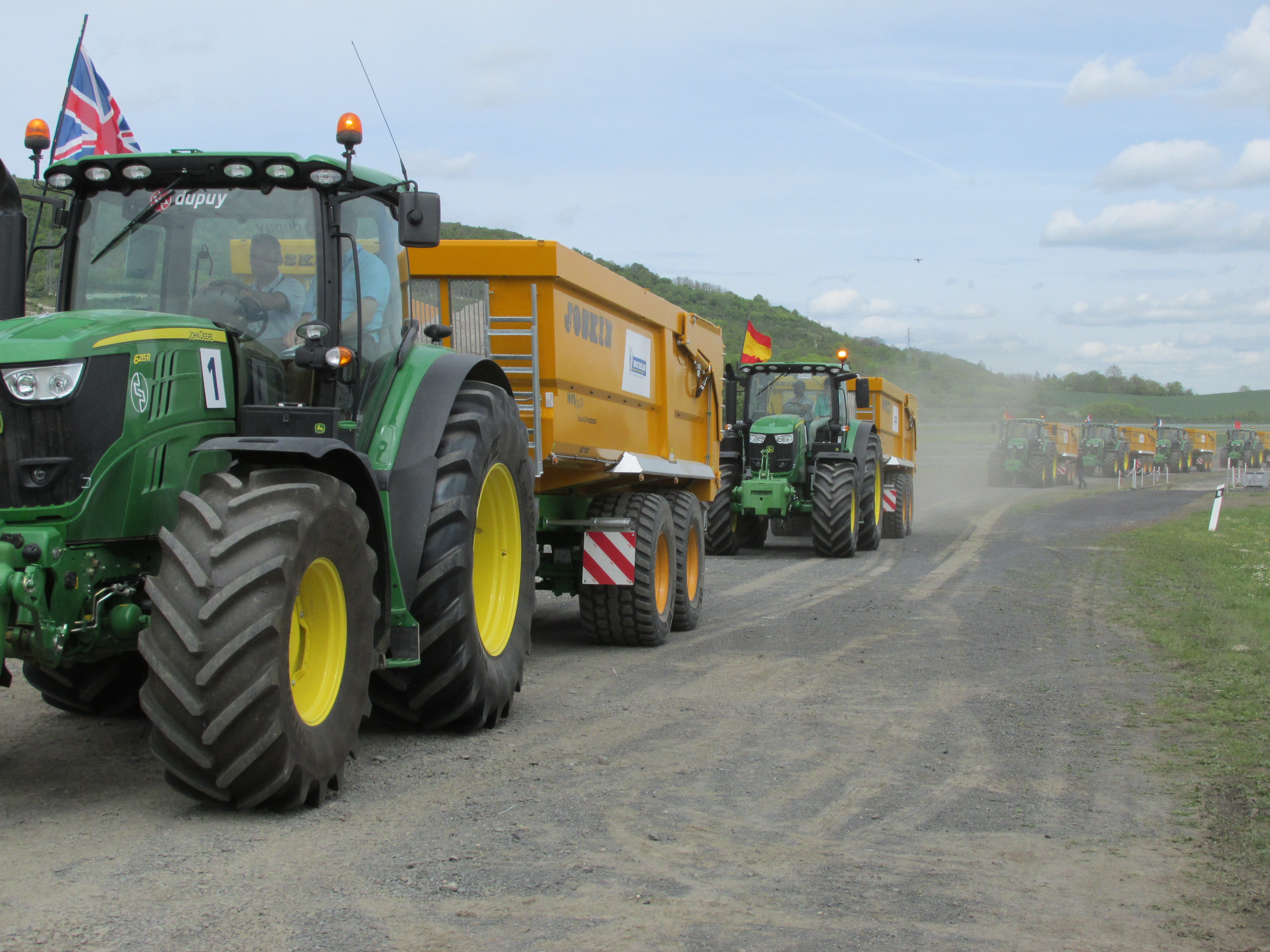 John Deere & Michelin are looking for Europe's best tractor driver