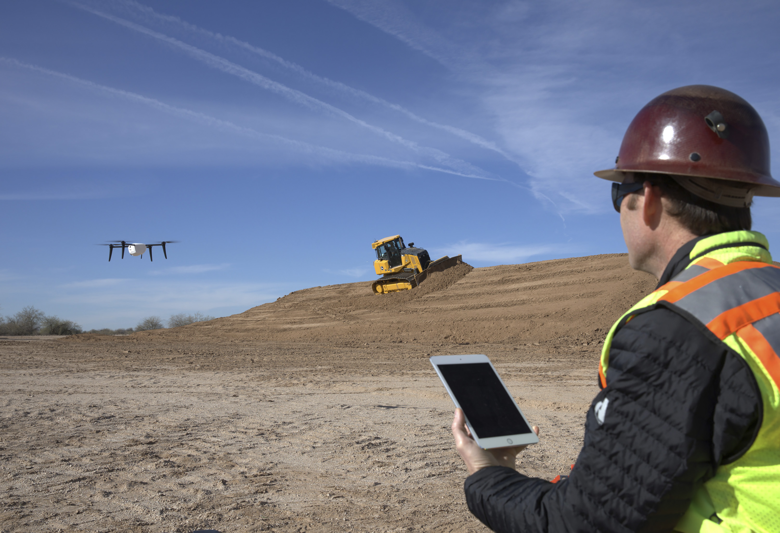 John Deere and Kespry Enter Strategic Alliance to Simplify Drone Integration on Construction Job Sites