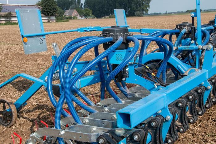 Der neu entwickelte Verteiler mit integrierter Fahrgassenschaltung