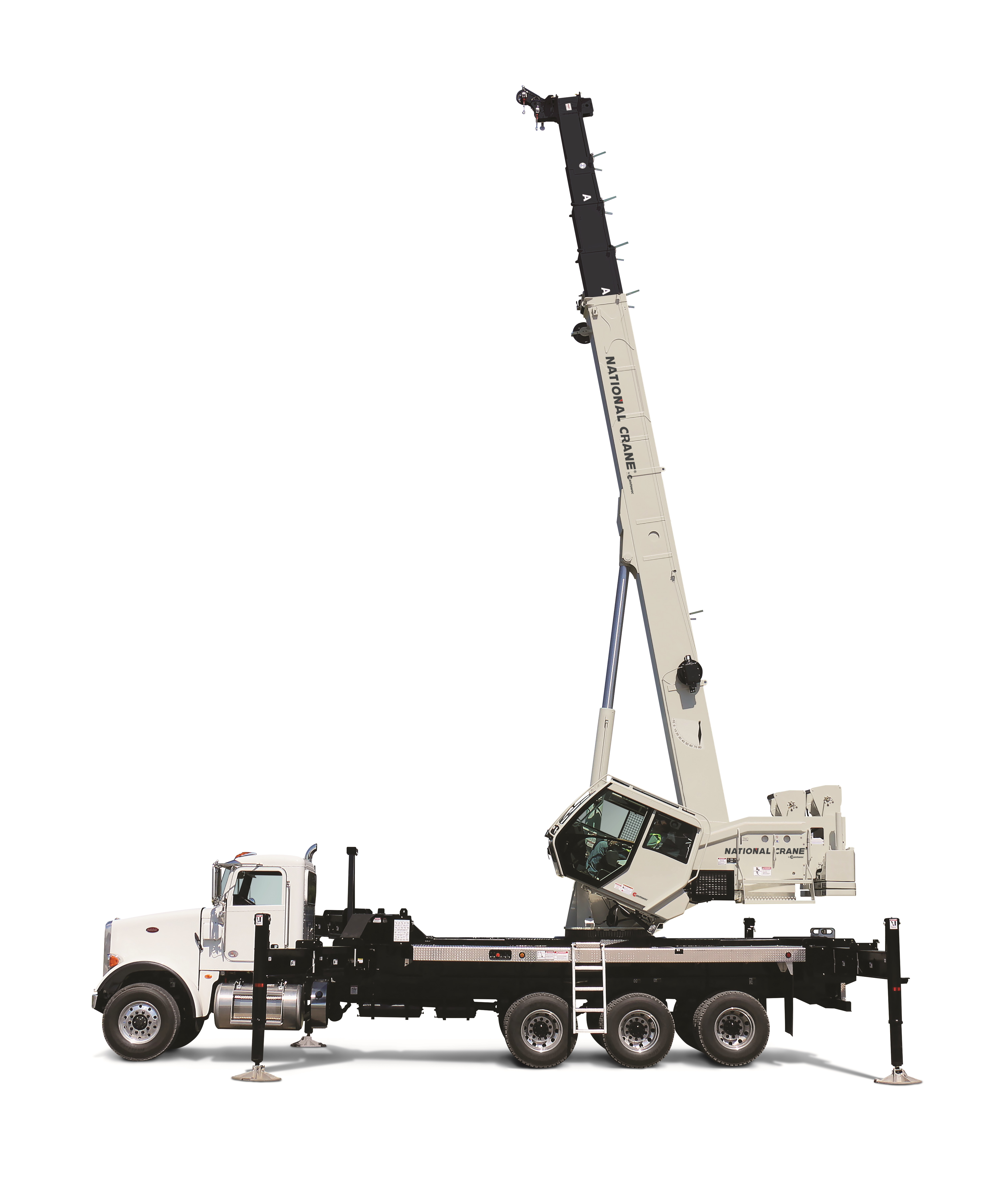 National Crane introduces the NTC55, an evolved truck crane with the reach and capacity of a boom truck