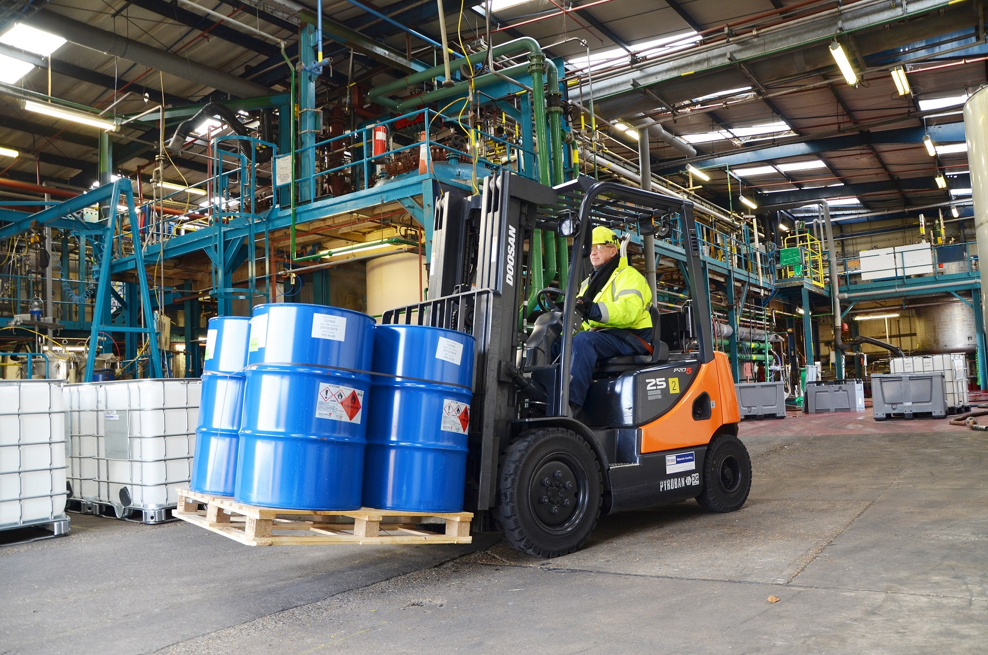 "New ""ATEX"" lift trucks for Witton Chemicals"