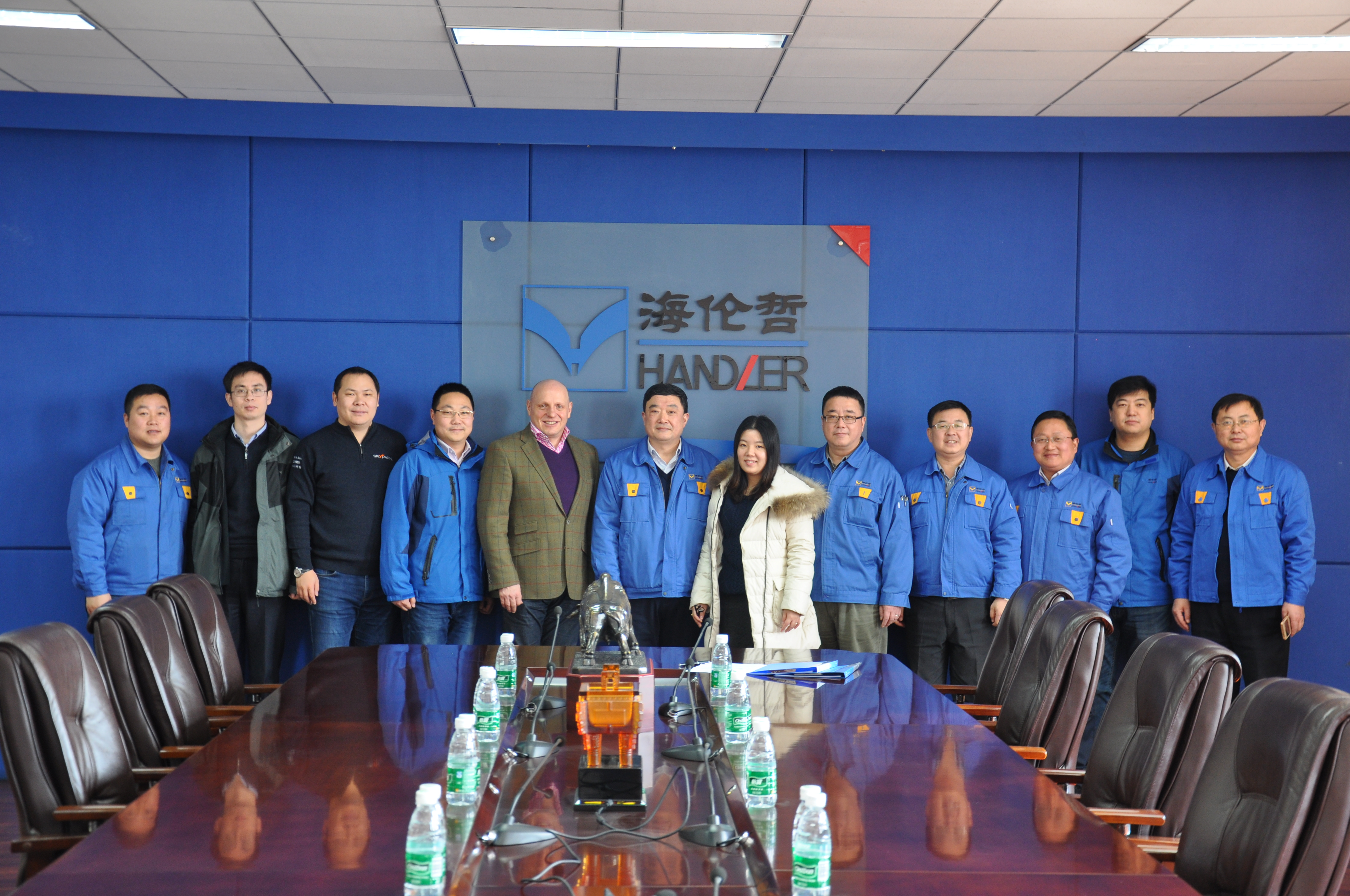 Xuzhou Handler Special Vehicle Co., Ltd ist Skyjacks neuester Partner in Festlandchina.