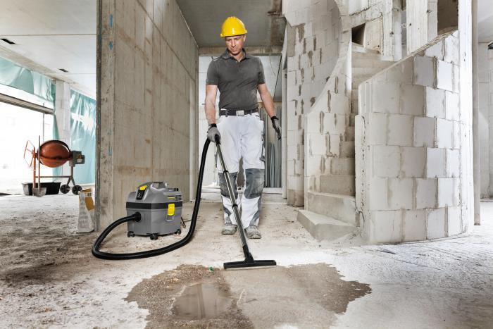 Der handliche Sauger ist besonders für die Reinigung im Automotive Bereich, auf Baustellen und für Handwerksbetriebe geeignet.