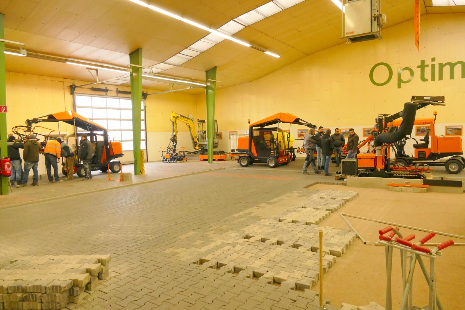 Bei Optimas in Ramsloh wird im eigenen Trainingszentrum mit einer großen Palette von Maschinen trainiert.