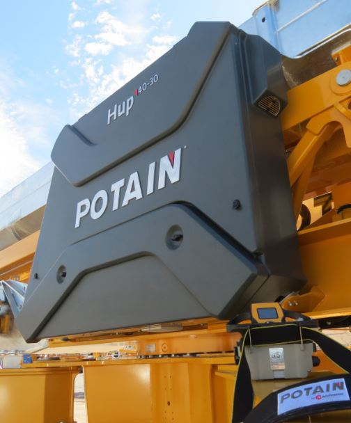Potain shows groundbreaking Hup 40-30 for first time in North America at CONEXPO 2017