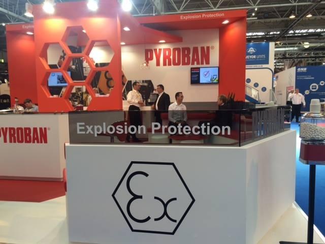 Pyroban provides an education in legislation at IMHX 2016