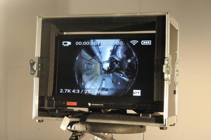 Aufnahmen der speziellen 360° Kamera.