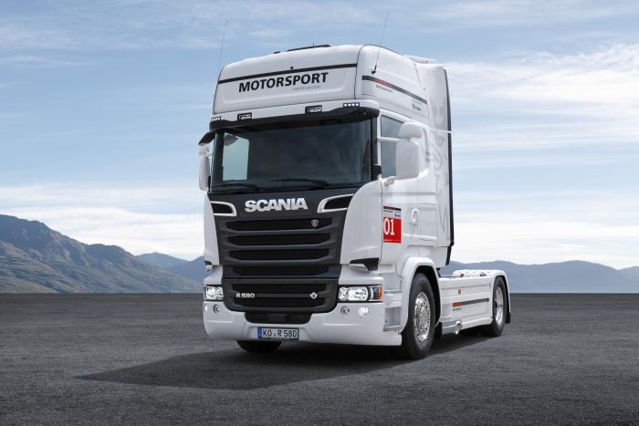 Scania Limited Edition   Porsche Motorsport Partner