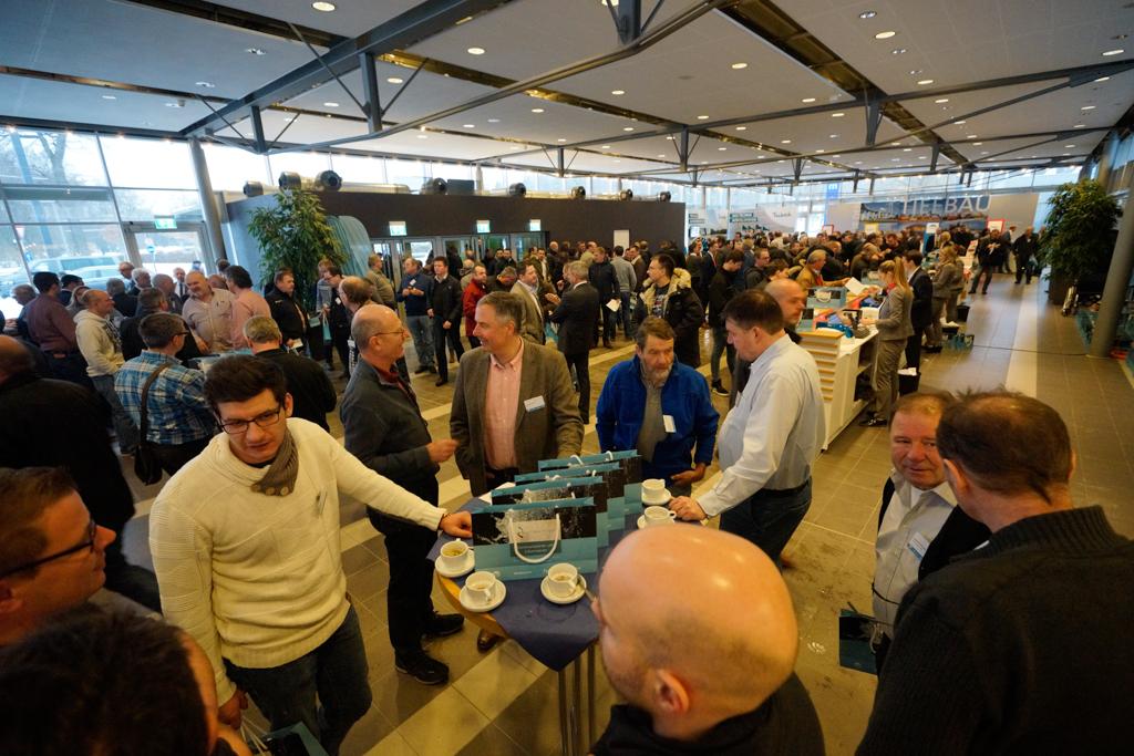 Mehr als  2.200 Besucher kamen am 26. Januar in Ulm zusammen, um sich mit anderen Branchen-Fachleuten auszutauschen und sich über aktuelle Trends zu informieren.
