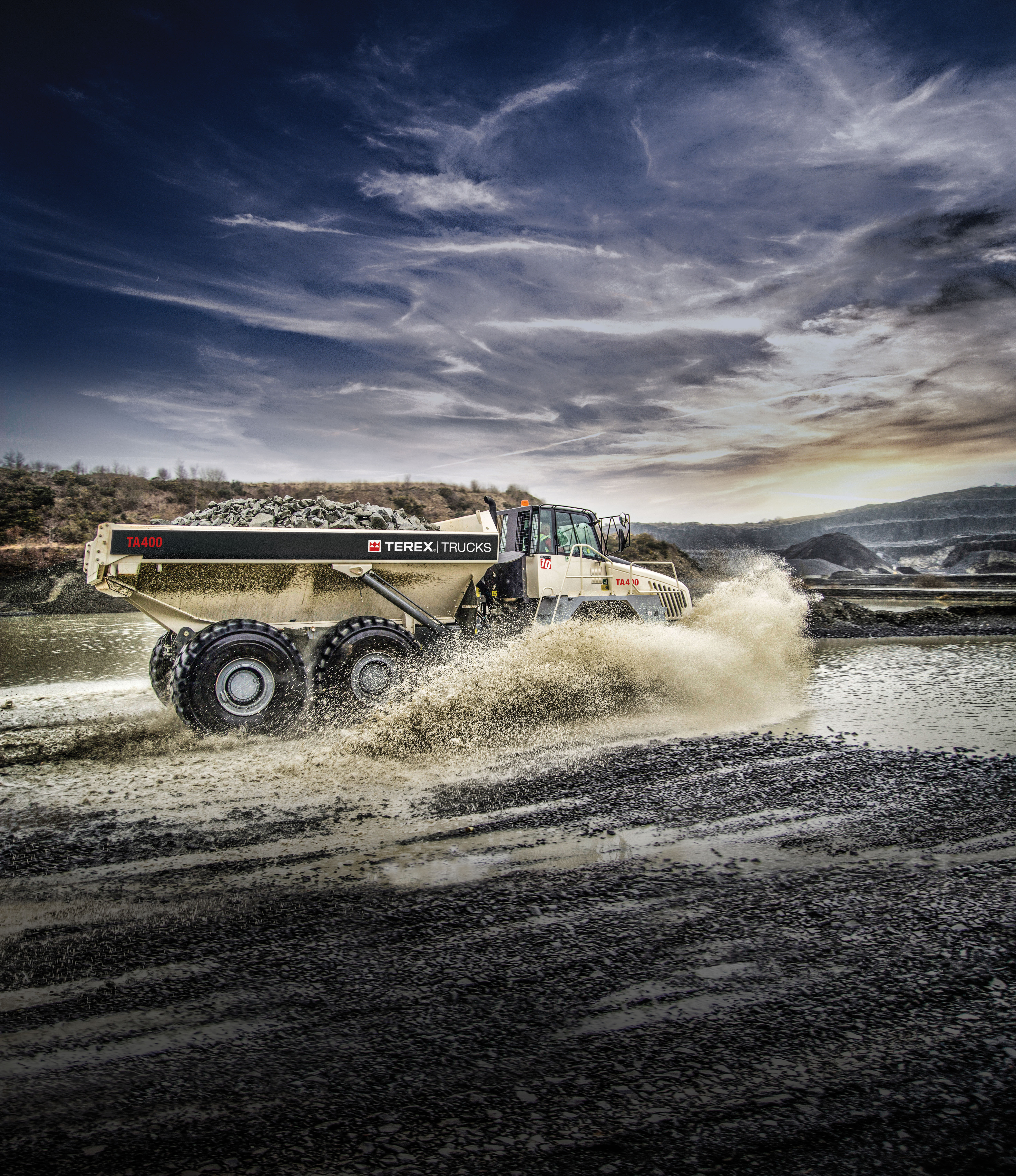 Terex Trucks' TA400 is the first of its new generation of articulated dump trucks, and will be on display at CONEXPO/CON-AGG