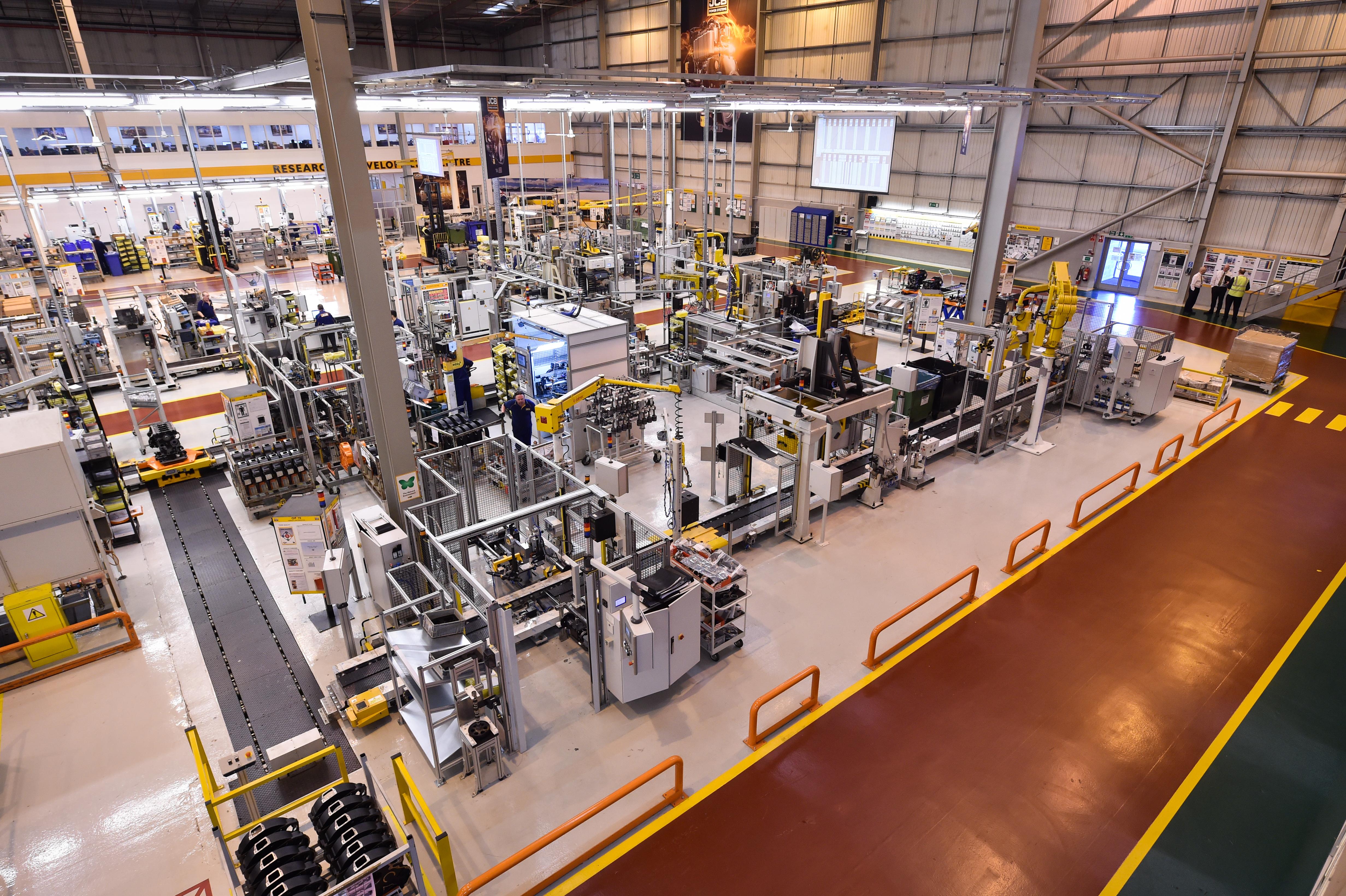 JCB Power Systems investiert 10 Millionen britische Pfund in eine neue Fertigungsanlage
