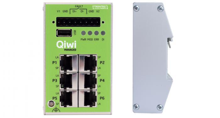 Qiwi Lite - der Switch für den leichten Einstieg in die Welt der Managed Switche.