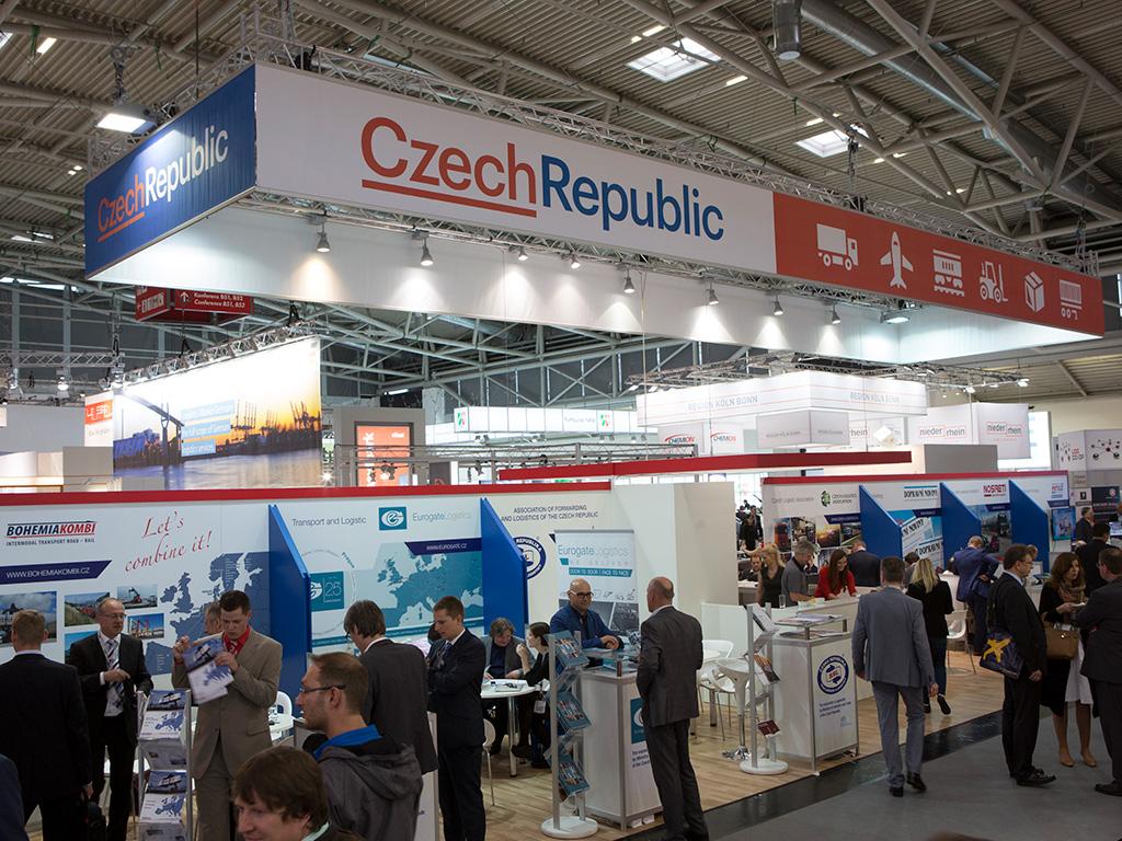 Tschechischer Pavillon auf der transport logistic
