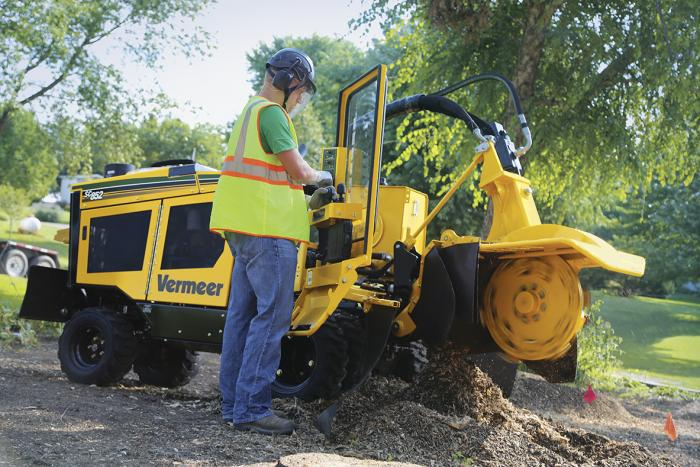 Vermeer introduces high-horsepower stump cutters at TCI Expo
