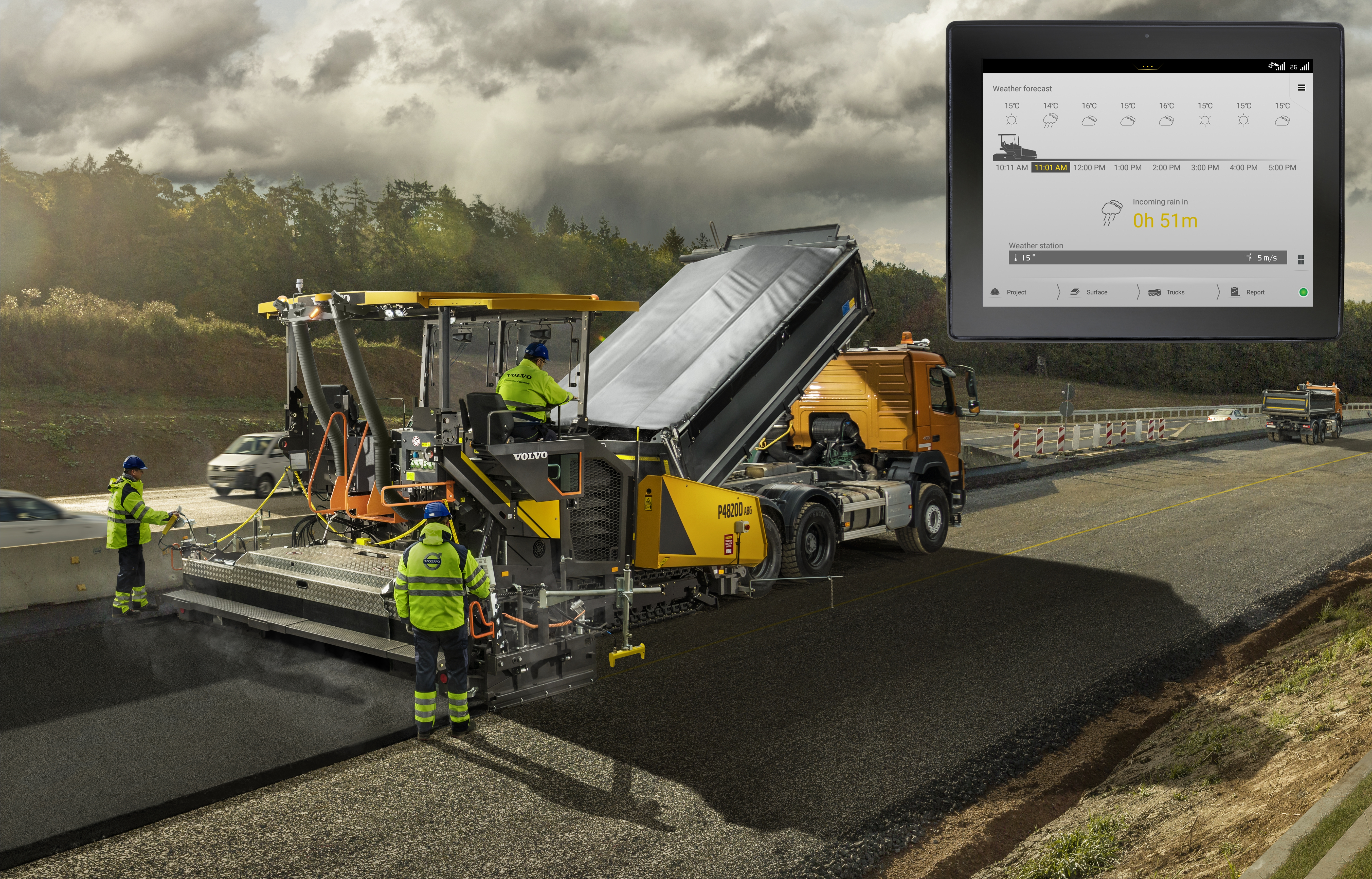 Volvo CE - Pave Assist