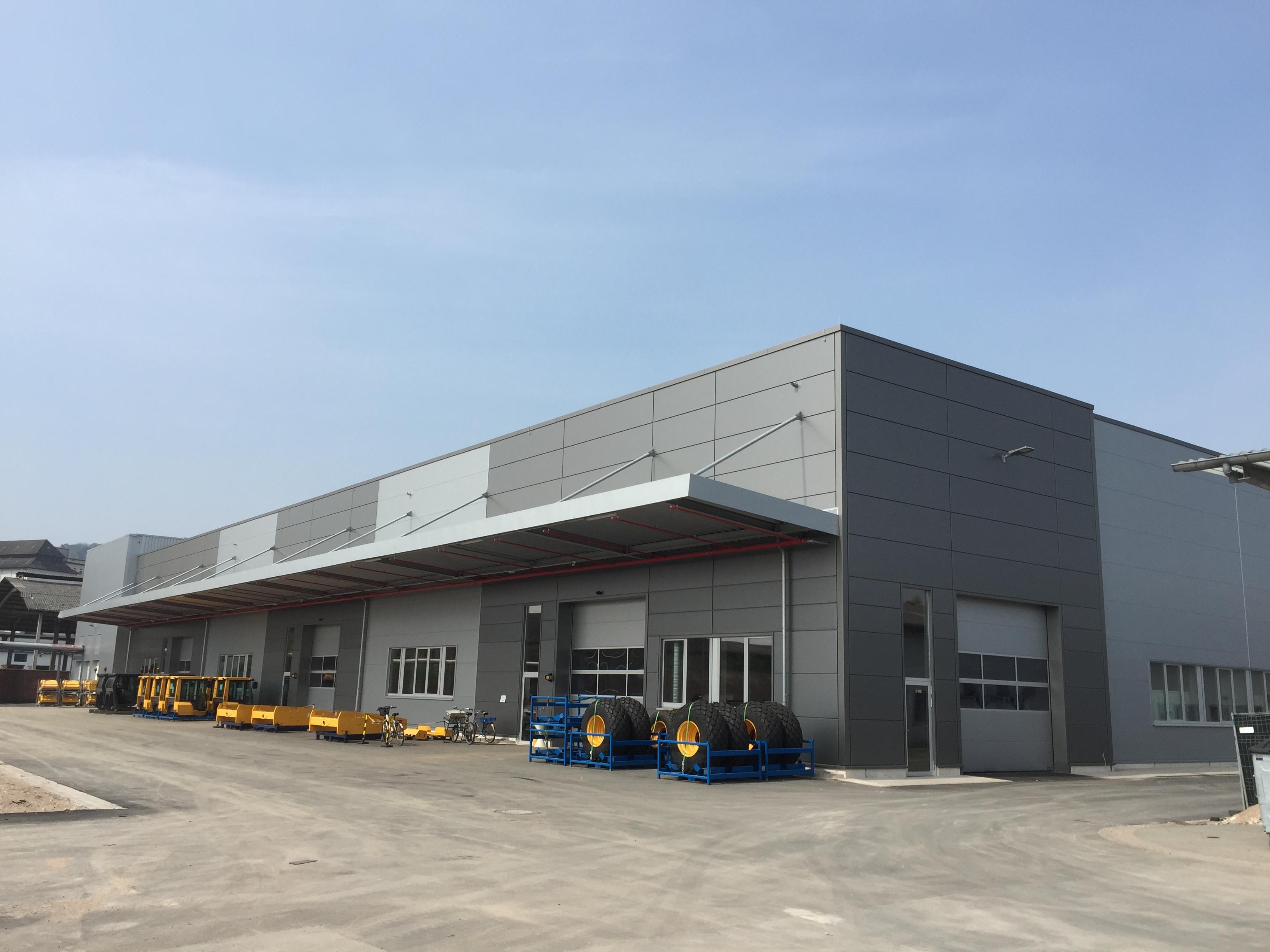 Volvo CE - Werk Hameln-Neue Walzenhalle