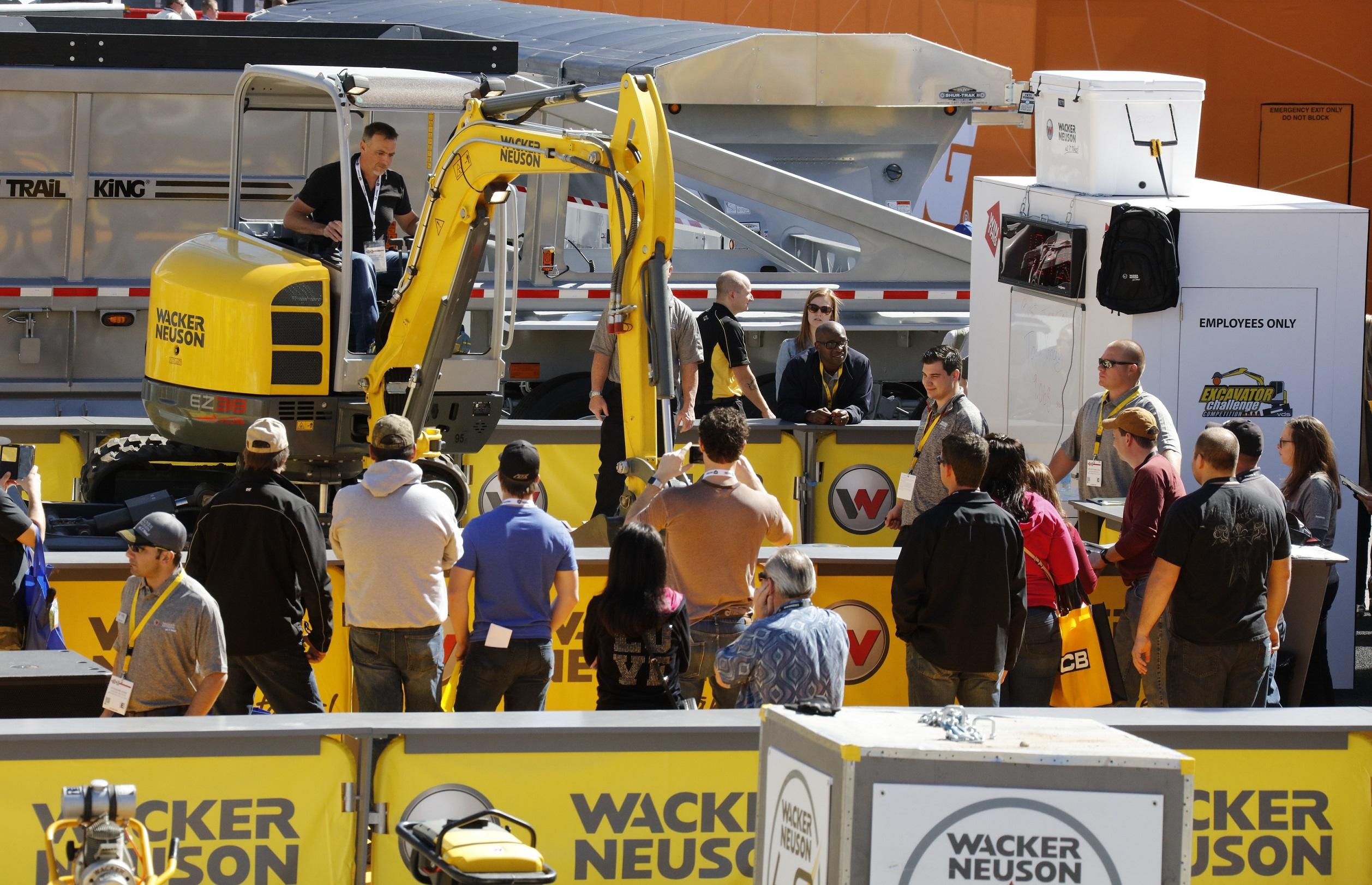Wacker Neuson auf der Conexpo 2017 – Blick in die Zukunft