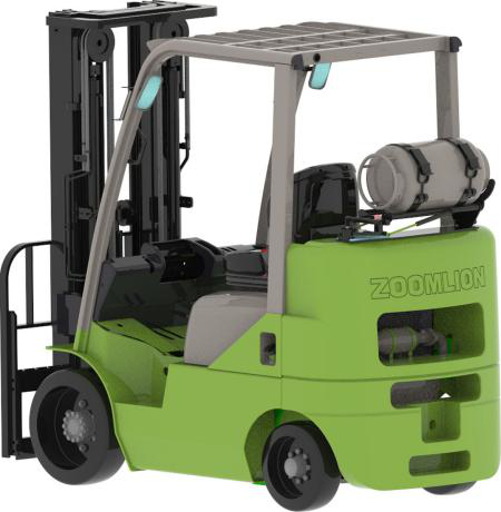 ZOOMLION FL25YKW Short-wheelbase Dual-fuel Forklift