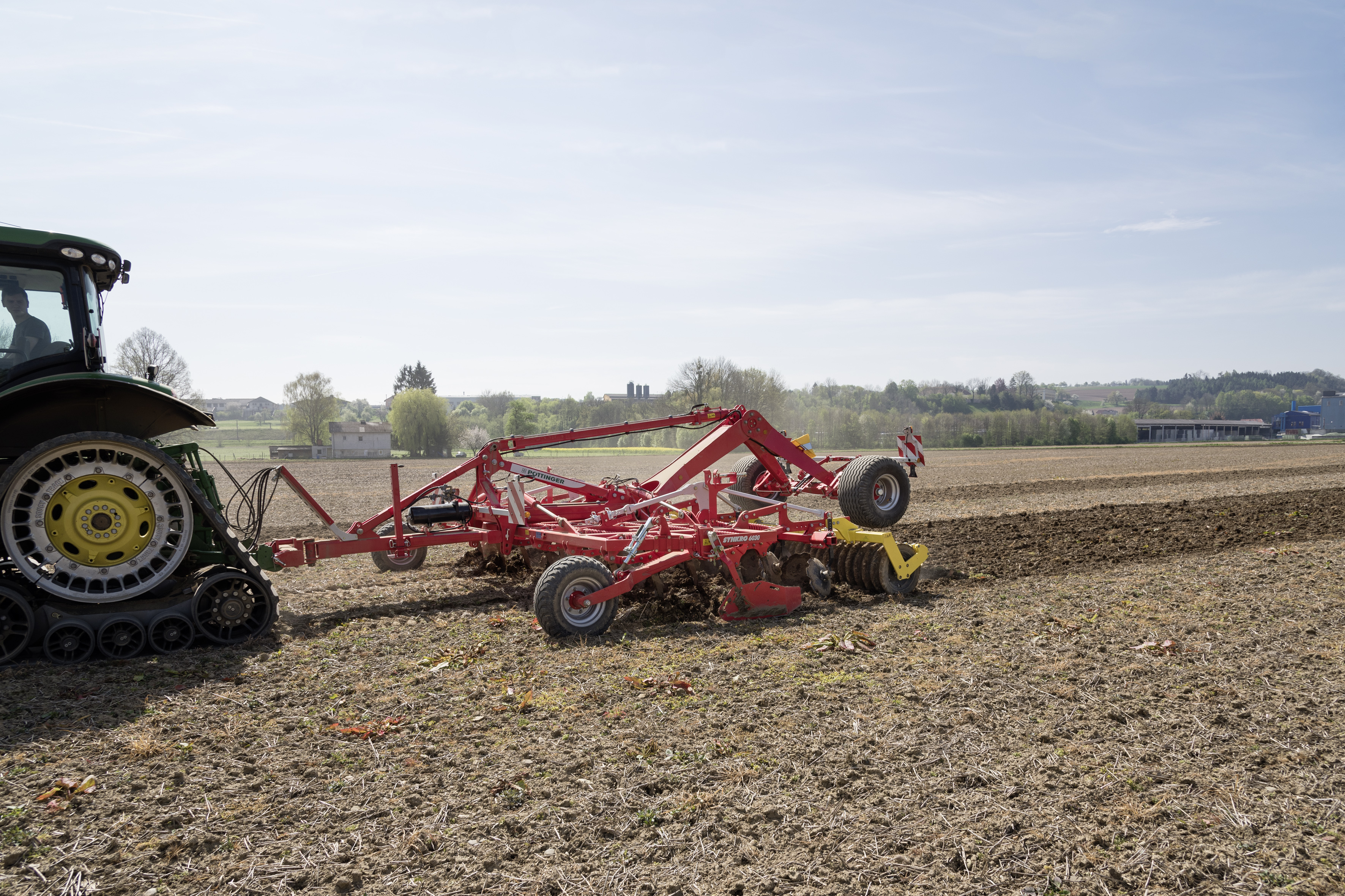 Cover crop incorporation with SYNKRO 6030 T