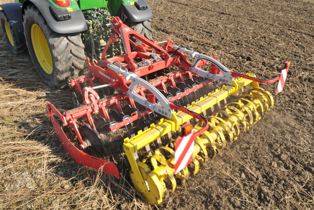Cover crop incorporation with TERRADISC 3001